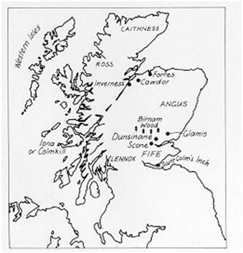 macbeth themes in real life do the locations and settings shakespeare used in macbeth