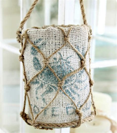 Coastal Themed Home Decor manualidades con cuerda originales ideas de decoraci 243 n