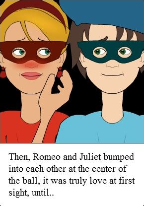romeo and juliet love at first sight my storybook romeo and juliet love at first sight quotes quotesgram