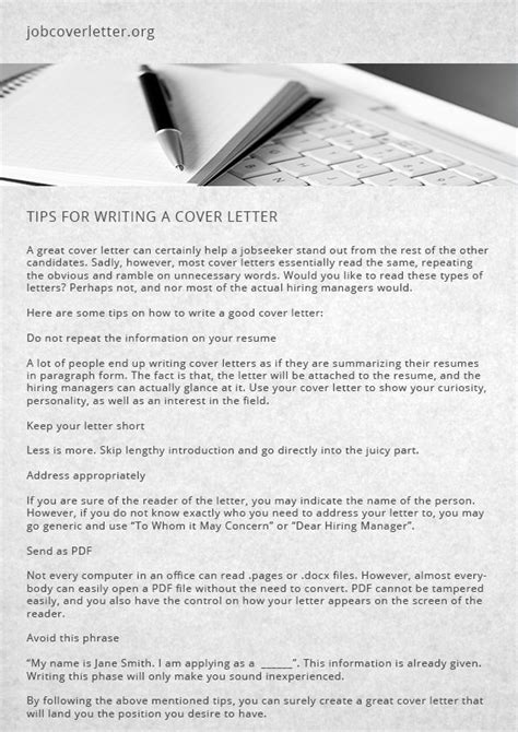 Writing A Cover Letter Tips by 53 Best Resume Resignation Images On Resume