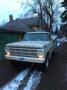 Ford 300 Inline 6 For Sale 1968 Ford F100 4 9 L 300 6 Six 4x4 For Sale