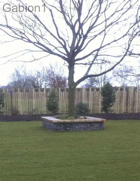 gabion seat around a tree http www gabion1 co uk