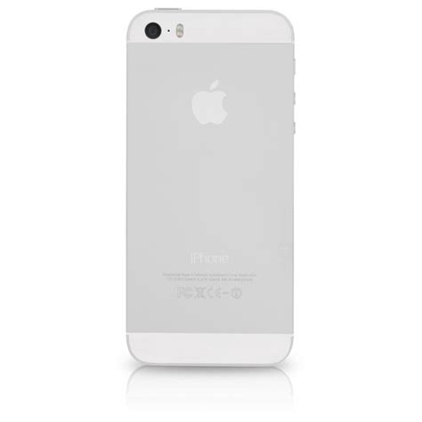 apple iphone 5s a1533 at t 16gb white silver