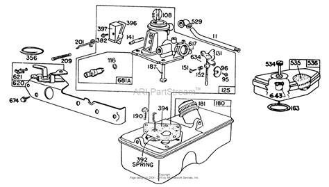 briggs and stratton lawn mower engine parts diagram toro briggs and stratton engine parts toro free engine