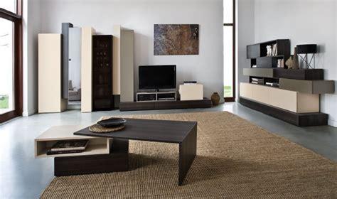 les de salon design table basse design en bois hifi originale et modulable avec tiroir et niche de rangement