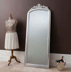 Decorative Home Accessories Interiors elegant silver full length mirror by primrose amp plum