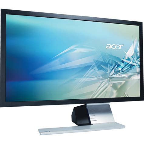 Widescreen Display Now Available On A Near You by Acer S243hl 24 Quot Widescreen Led Backlit Lcd Et Fs3lp 001 B H