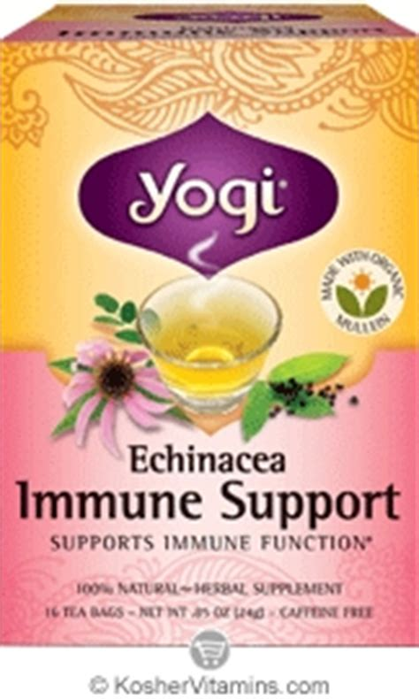 Yogi Tea Womans Nursing Support Asi Booster For yogi tea kosher organic echinacea immune support tea 16