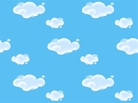 free cloud pattern background clouds pattern by raul dribbble