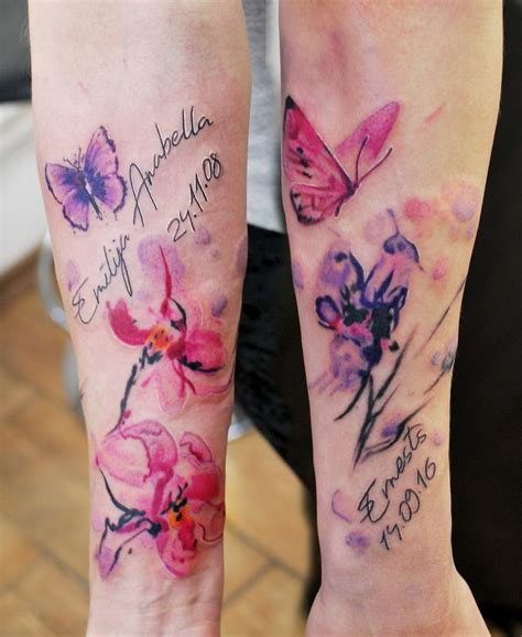 rose and writing tattoos 17 best images about flower on colorful