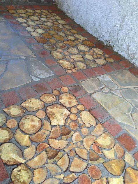 Cord Wood Floor by Type Cordwood Floor Beside Sandstone And Used