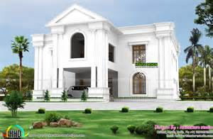 colonial style home pillar colonial style home kerala home design and