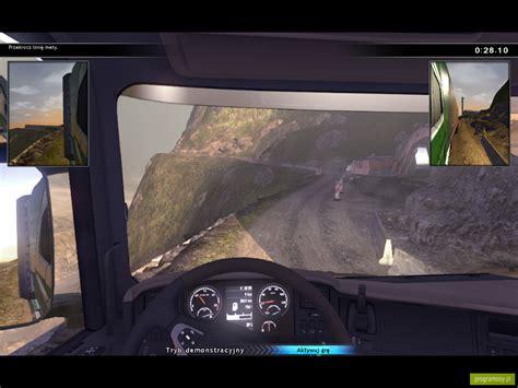 galeria zdjęć zrzuty ekranu screenshoty scania truck