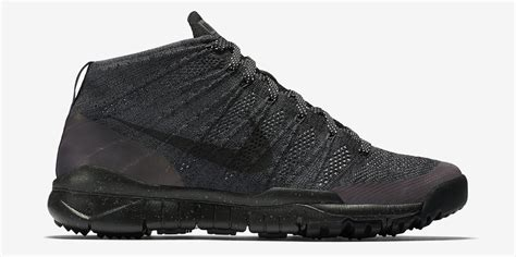 Nike Flyknit Chukka Black nike flyknit chukka fsb black anthracite sneaker bar detroit