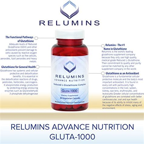 Gluta Complex new relumins advance nutrition gluta 1000 reduced l