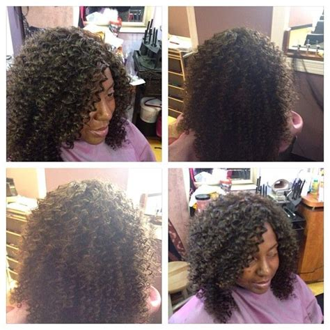 wavy full sew in curly full sew in by kim salon weaves curlyhair