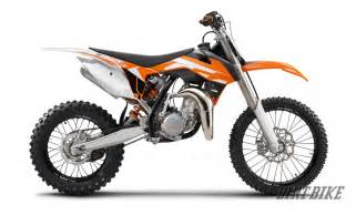 Ktm 2 Stroke Models Dirt Bike Magazine Look Ktm S 2016 Sx Models