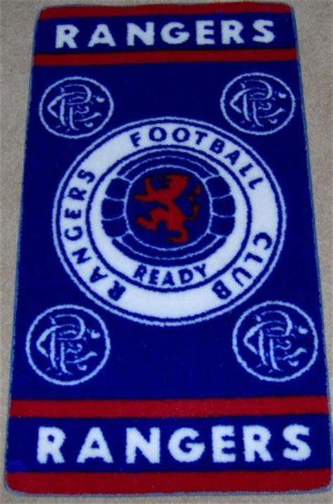 rangers rug area rugs pads rangers fc club rug