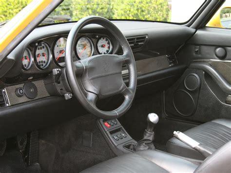 Porsche 993 Interior by 1997 Porsche 993 911 Turbo S