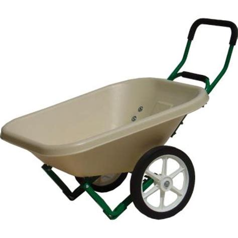 dandux loadumper 4 cu ft beige loadumper wheelbarrow