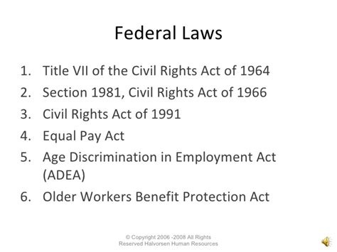section 7 human rights act employer survival best practice