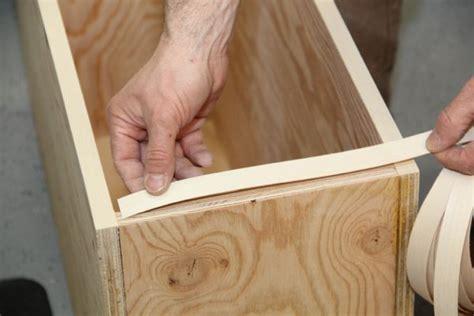 apply thin veneer edge banding  concord carpenter