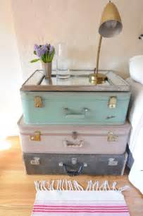 decorating with vintage shabby chic suitcases i heart shabby chic