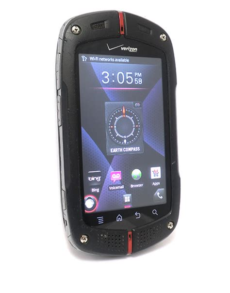 rugged android phone verizon verizon casio commando c771 rugged android smartphone property room