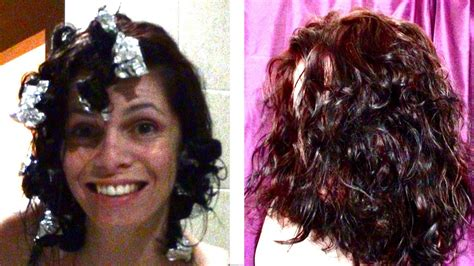 Kitchen Foil Hair Hair Tutorial How To Curl With Kitchen Foils