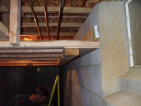 How To Frame Ceiling by Framing Basement Ceiling Framing Contractor Talk