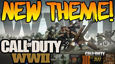 themes ps4 call of duty new quot call of duty ww2 quot theme ps4 youtube