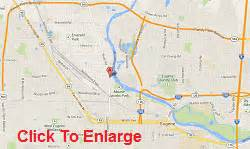 map of eugene oregon contact integrity auto repair or river road in eugene oregon