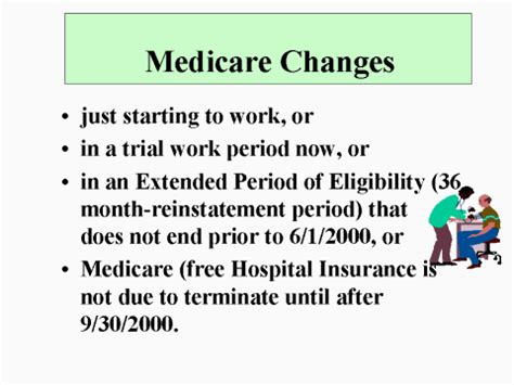 social security  extended medicare overview