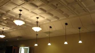 decorative ceiling tiles changing the flat surface into