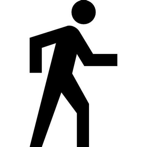 wandlen design wandelen routebeschrijvingen knop pictogram gratis