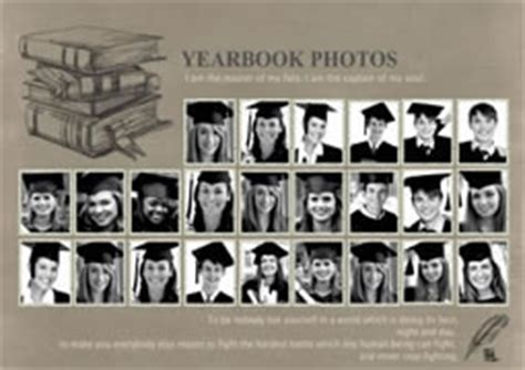 Photo Collage Template For Yearbook Yearbook Collage Template