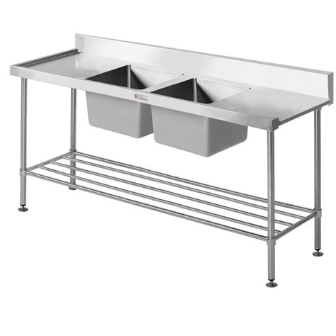 bench dishwasher simply stainless s steel dishwasher inlet sink bench