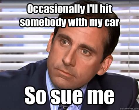 Michael Scott Memes - 57 best car related moments from the office the news wheel