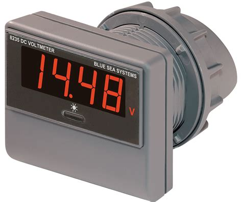 Dc Voltmeter Dc Digital Voltmeter 0 To 60v Dc Blue Sea Systems