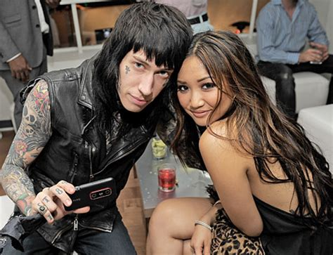 brenda song tattoo pic trace cyrus gets on his us weekly
