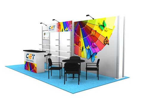trade show booth design houston 10x20 turn key trade show booth design 1299 interlink plus