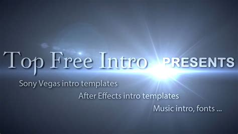 free sony vegas intro space template youtube free intro