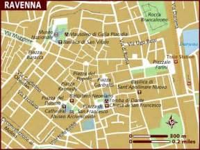 Ravenna Italy Map by Map Of Ravenna
