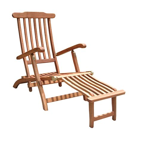 Wooden Chaise Lounge Vifah Outdoor Wood Folding Chaise Lounge V156