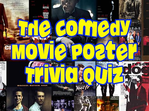 film comedy quiz the comedy movie poster trivia quiz