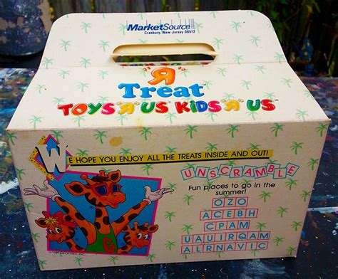 in the box toys r us 1989 toys quot r quot us treat box dinosaur dracula