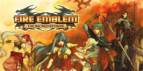 fire emblem  sacred stones game boy advance games