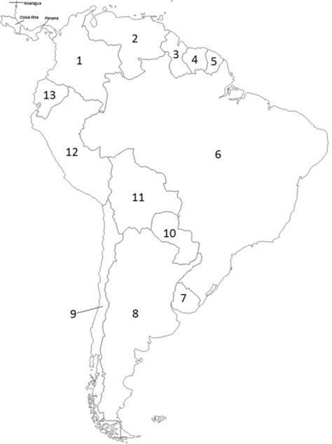 and south america map quiz south america political map quiz by bmueller