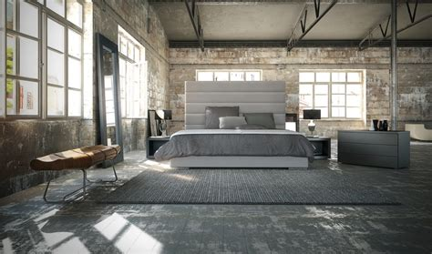 design loft sleek bedrooms with cool clean lines