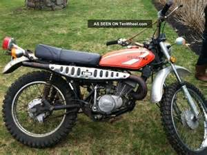 Suzuki Enduro Bike 1975 Suzuki Ts 185 Enduro Vintage Small Dirt Bike